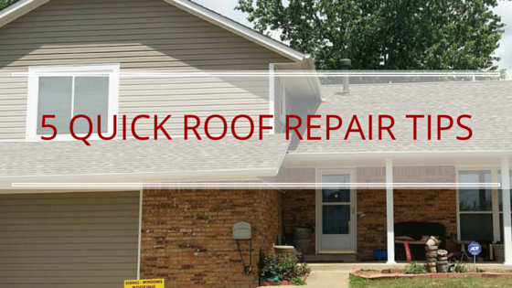 5 quick roof repair tips